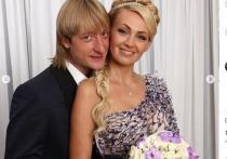 Евгений Плющенко отмечает 10-летие со дня свадьбы с Яной Рудковской