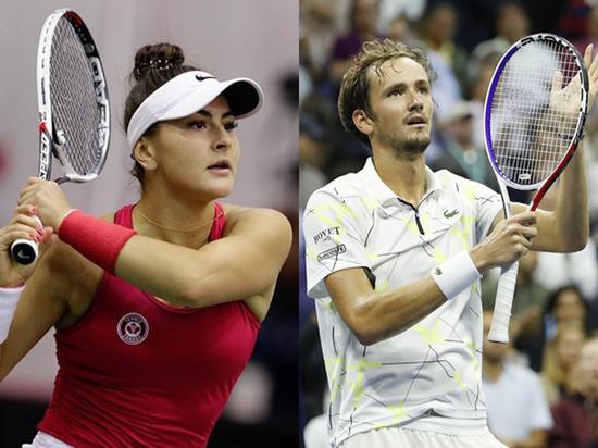 Бьянка и Даниил — новые герои большого тенниса...