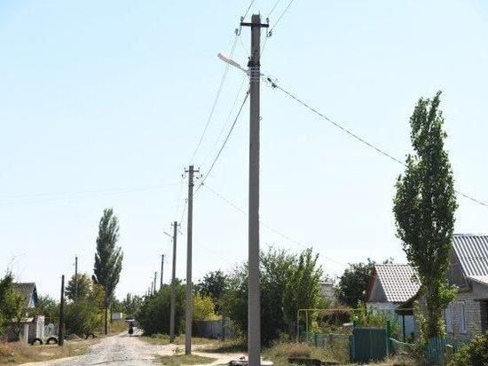 В селах Волгоградской области станет светлее и безопаснее
