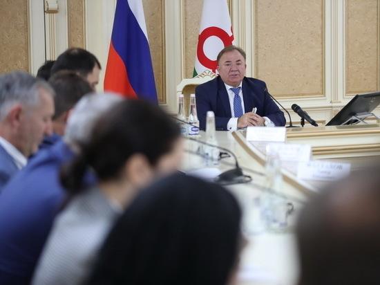 В Ингушетии как «дублирующий» упразднен аппарат републиканского правительства