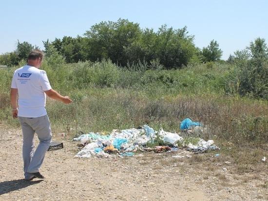 ОНФ: Ставрополью нужна система организованного сбора мусора в местах отдыха
