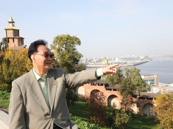 Президент ТАФИСА Чжу Хо Чан посетил Нижний Новгород