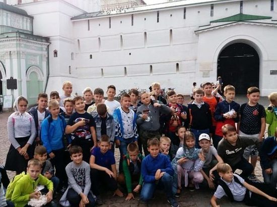 Мальчики из конаковской хоровой школы побывали в Сергиевом Посаде