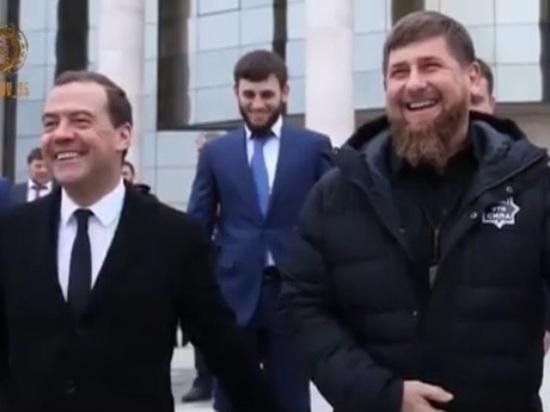 Рамзан Кадыров пожелал Дмитрию Медведеву здоровья