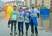 Губернатор ЯНАО пробежал благотворительный марафон «Полярный круг»