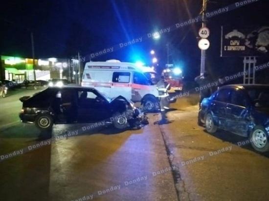 Водитель и пассажирка пострадали после ДТП в Новочеркасске