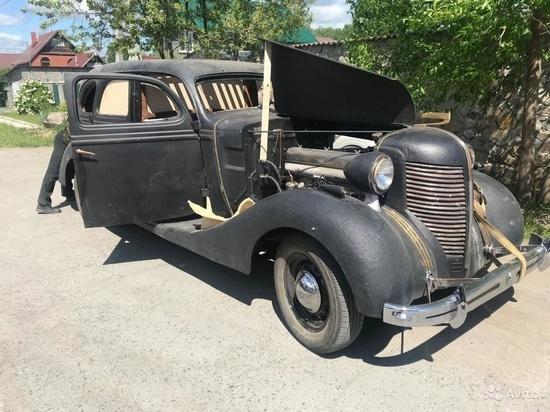 В Новосибирске выставлен на продажу автомобиль за 75 миллионов