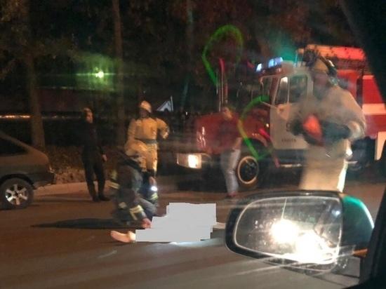 На Грабцевском шоссе в Калуге сбили женщину