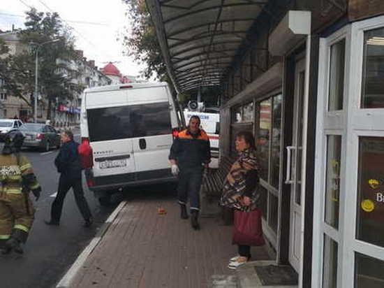 В Брянске в ДТП с маршруткой травмированы 5 человек