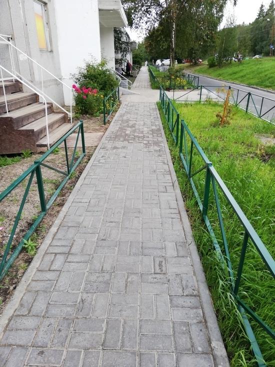 В Петрозаводске благоустроили 24 двора