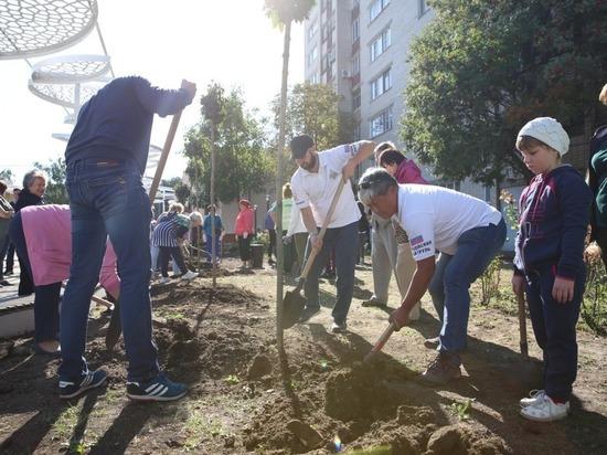 На субботник перед Днем города в Ставрополе вышли 10 тысяч человек