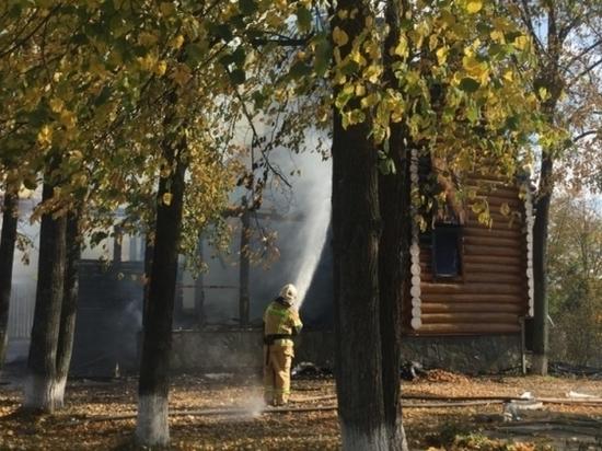 Названа предварительная причина пожара в свердловском храме