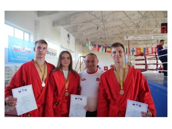Серпуховичи завоевали награды Первенства мира по универсальному бою