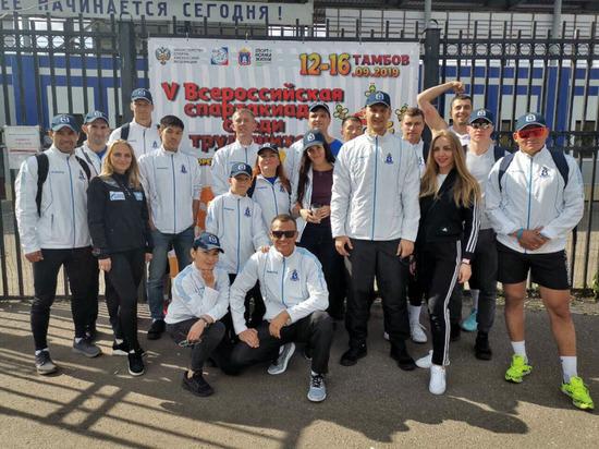 Газовики из Ямала заняли призовые места на всероссийской спартакиаде