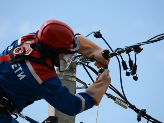 Энергетики восстановили электроснабжение центральной части Тарусы