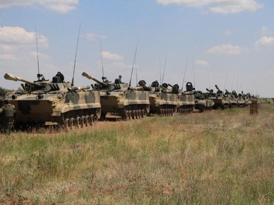 Волгоградские гвардейцы приняли участие в крупных тактических учениях