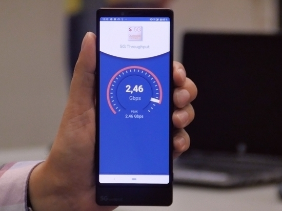 МегаФон довел скорость соединения 5G до рекордной отметки