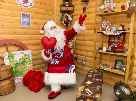 Вятский Дед Мороз ждет гостей в парке «Аполло»