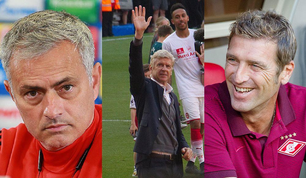 Моуринью, Аллегри и Венгер: 10 тренеров, готовых завтра вернуться к работе