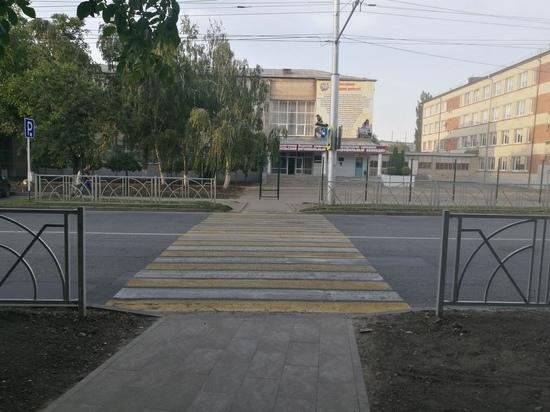 Проверка ОНФ ускорила обустройство «зебр» около школ на Ставрополье