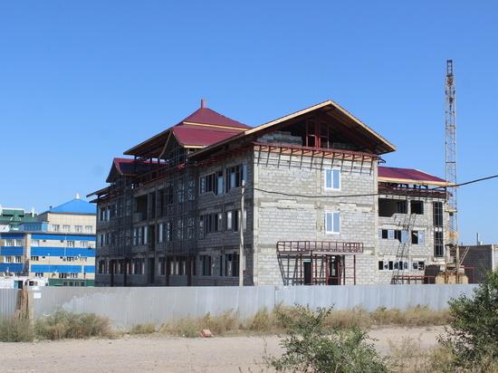 Новое здание Кызылского городского суда (Тува) построено на 45 процентов