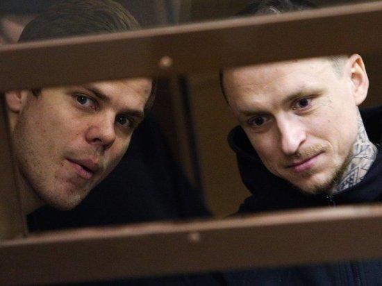 Кокорин и Мамаев освободятся из колонии утром 17 сентября