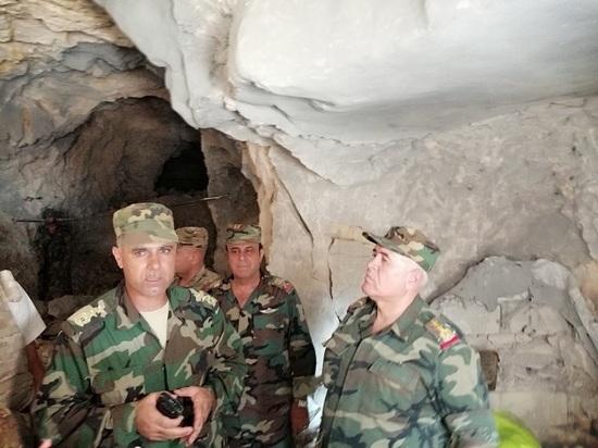 Сирийские военные показали отбитые у террористов подземные бункеры