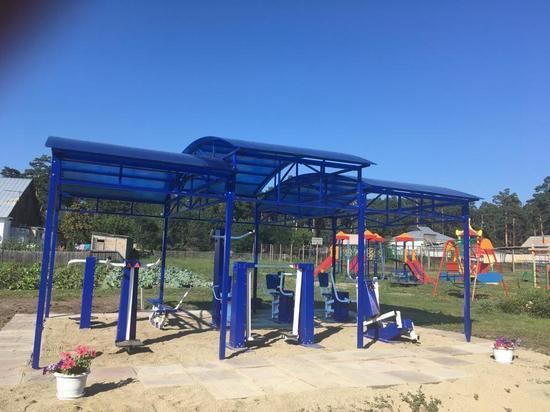 В 15 детских домах Алтайского края появились спортивные площадки