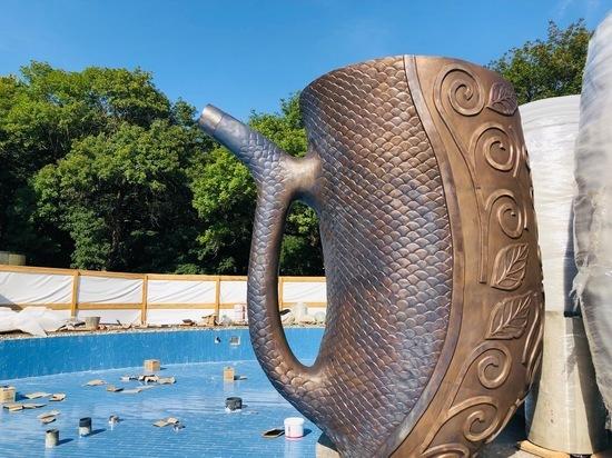 В Железноводске обновленный курортный фонтан откроют в День города