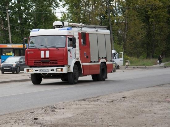 Из-за пожаров накануне в Тульской области несколько семей остались без крова