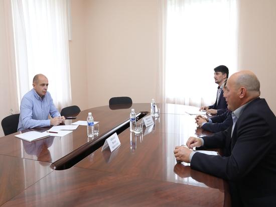 Сергей Сокол обсудил проблемы Балаганска с руководством муниципалитета