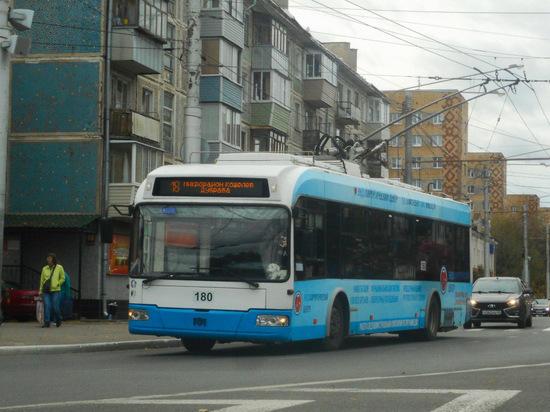 Два троллейбусных маршрута остановят в Калуге
