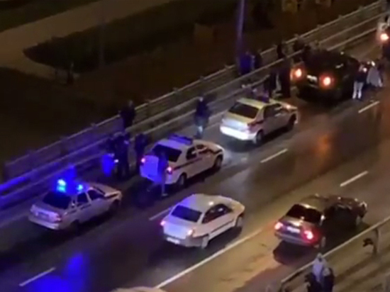 Сумасшедшая скинула двоих детей с моста в Москве
