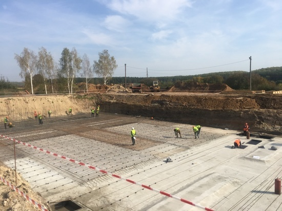 В Ворсме начали строить новые очистные сооружения