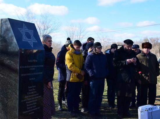 Памятник жертвам Холокоста приводят в порядок в Волгоградской области