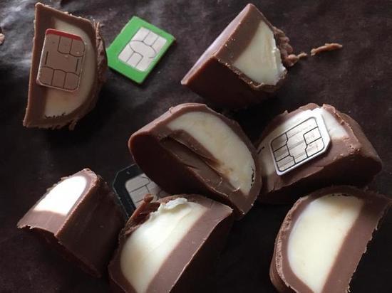 Девушка по просьбе любимого передала в колонию конфетки с начинкой из сим-карт