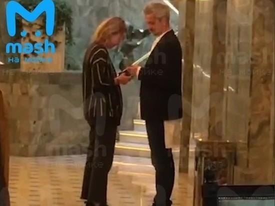 На свадьбу Бондарчука в Петербург приехала Ксения Собчак с новым мужем