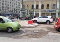 Столичные водители начали массово жаловаться на островки безопасности, появившиеся в начале сентября