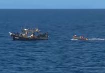 Пограничники задержали 80 северокорейцев на шхунах в Японском море