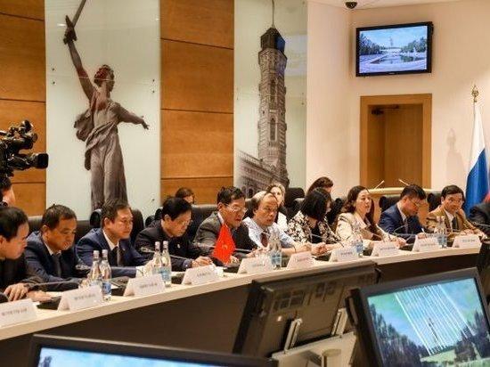 Волгоградская область развивает отношения с Вьетнамом