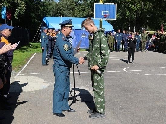 На Сахалине прошли региональные соревнования «Школа безопасности»