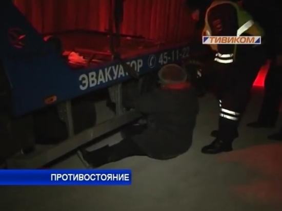 Пять лет назад мать таксиста Баирова легла под колеса эвакуатора – из-за долгов сына