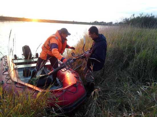 Хакасские спасатели эвакуировали абаканца с необитаемого острова