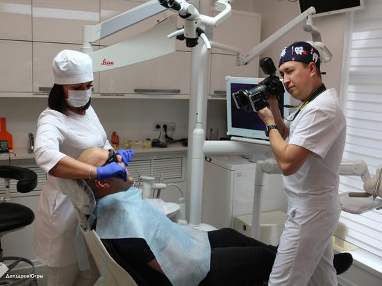 Нижневартовские стоматологи фотографируют зубы