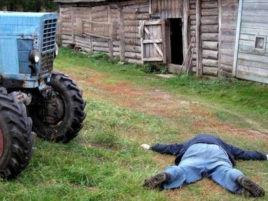 Житель Таштыпа разъезжал пьяный на тракторе