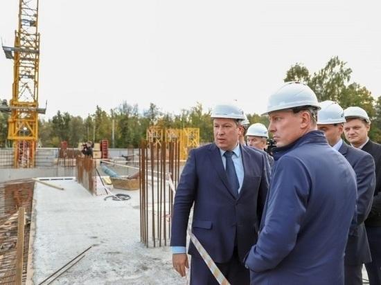 В Ярославле возобновили строительство онкобольницы после обрушения