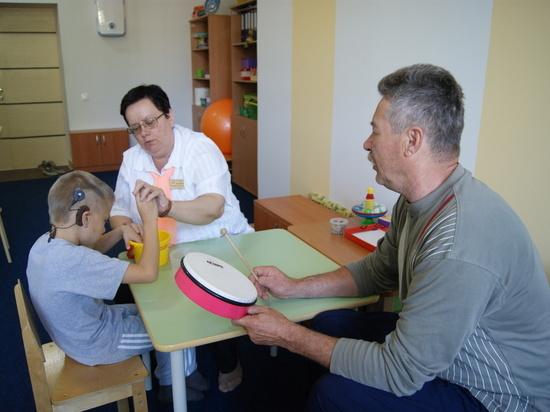 Помощь слепоглухим в регионе вышла нановый уровень