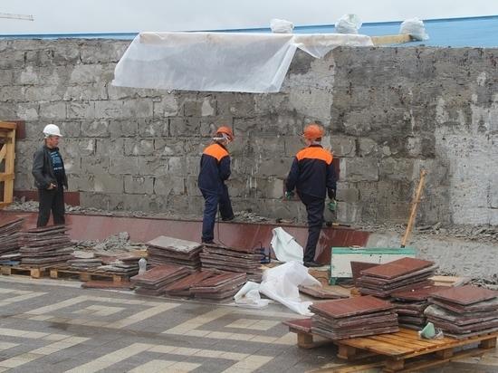В Туле ремонтируют мемориал «Защитникам неба Отечества»