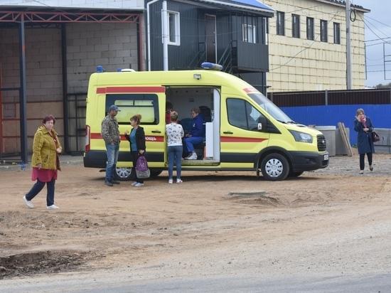 Калужская школьница забралась на вышку сотовой связи