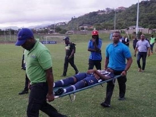 Удар молнии! 4 футболиста пострадали наЯмайке